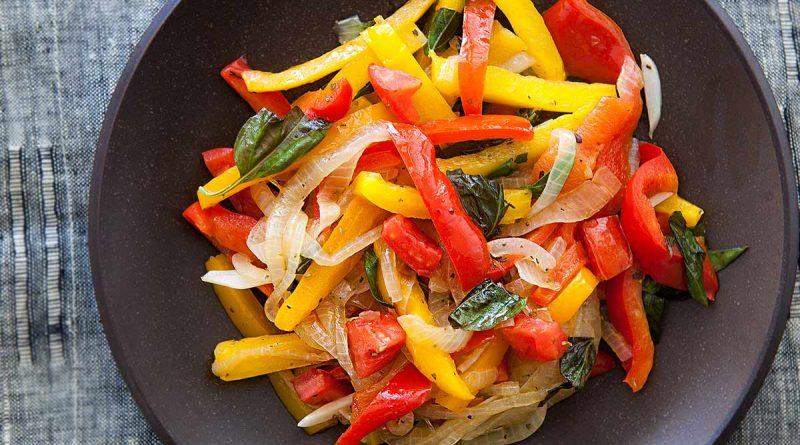ricetta-peperonata-tonno-bimby