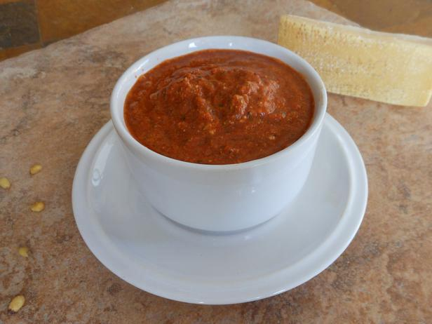 Pesto di peperoni senza cottura